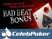 Celeb Poker Bad Beat Bonus