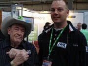Theo Adams and Doyle Brunson
